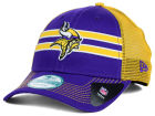 Minnesota Vikings New Era NFL Frontband Trucker XP 9FORTY Cap Adjustable Hats