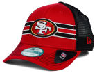 San Francisco 49ers New Era NFL Frontband Trucker XP 9FORTY Cap Adjustable Hats