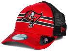 Tampa Bay Buccaneers New Era NFL Frontband Trucker XP 9FORTY Cap Adjustable Hats