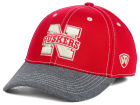 Nebraska Cornhuskers Top of the World NCAA D'Up Stretch Cap Stretch Fitted Hats