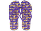 LSU Tigers All Over Print Flip Flop Apparel & Accessories