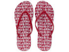 Oklahoma Sooners All Over Print Flip Flop Apparel & Accessories