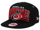 Carolina Hurricanes New Era NHL Back Up 9FIFTY Snapback Cap Adjustable Hats