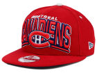 Montreal Canadiens New Era NHL Back Up 9FIFTY Snapback Cap Adjustable Hats
