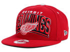 Detroit Red Wings New Era NHL Back Up 9FIFTY Snapback Cap Adjustable Hats