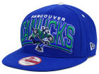 Vancouver Canucks New Era NHL Back Up 9FIFTY Snapback Cap Adjustable Hats