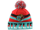 Vancouver Grizzlies Mitchell and Ness NBA Trifecta Cuffed Pom Knit Hats