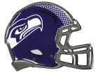 Seattle Seahawks Metal Helmet Emblem with Domed Insert Bumper Stickers & Decals