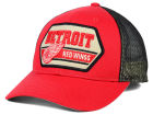 Detroit Red Wings CCM Hockey NHL Patched Trucker Cap Adjustable Hats
