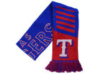 Texas Rangers Forever Collectibles Knit Scarf Wordmark Apparel & Accessories