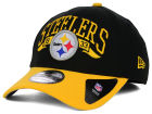 Pittsburgh Steelers New Era NFL Major Arch Classic 39THIRTY Cap Stretch Fitted Hats