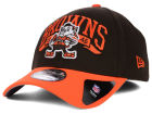Cleveland Browns New Era NFL Major Arch Classic 39THIRTY Cap Stretch Fitted Hats