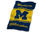 Michigan Wolverines Logo Chair Ultrasoft Blanket Bed & Bath