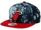 Miami Heat New Era NBA HWC Ozone Impulse 9FIFTY Snapback Cap Adjustable Hats