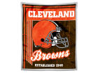 Cleveland Browns The Northwest Company Mink Sherpa Throw 50x60inch