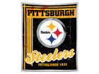 Pittsburgh Steelers The Northwest Company Mink Sherpa Throw 50x60inch