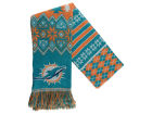 Miami Dolphins Forever Collectibles Ugly Sweater Acrylic Scarf Apparel & Accessories