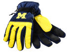 Michigan Wolverines Forever Collectibles Insulated Gloves Apparel & Accessories