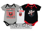 DC United adidas MLS Newborn 3 Goals Bodysuit Set Infant Apparel