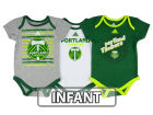 Portland Timbers adidas MLS Infant 3 Goals Bodysuit Set Infant Apparel