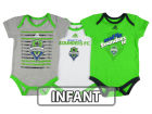 Seattle Sounders FC adidas MLS Infant 3 Goals Bodysuit Set Infant Apparel