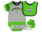 Seattle Sounders FC adidas MLS Infant Little Kicker Set Infant Apparel