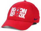 Boston Red Sox Nike MLB Verbiage Logo Cap Stretch Fitted Hats