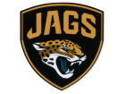 Jacksonville Jaguars SHIELD Wincraft 4x4 Die Cut Decal Color Bumper Stickers & Decals
