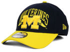 Michigan Wolverines New Era NCAA Major Arch 39THIRTY Cap Stretch Fitted Hats