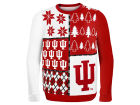 Indiana Hoosiers Forever Collectibles NCAA Men's Busy Block Ugly Sweater Sweatshirts