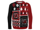 South Carolina Gamecocks Forever Collectibles NCAA Men's Busy Block Ugly Sweater Sweatshirts