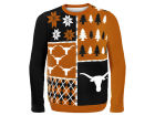 Texas Longhorns Forever Collectibles NCAA Men's Busy Block Ugly Sweater Sweatshirts