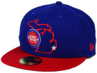 Detroit Pistons New Era NBA HWC States 59FIFTY Cap Fitted Hats