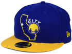 Golden State Warriors New Era NBA HWC States 59FIFTY Cap Fitted Hats