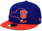 New York Knicks New Era NBA HWC States 59FIFTY Cap Fitted Hats