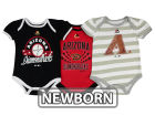 Arizona Diamondbacks Majestic MLB Newborn Girls TP Bodysuit Set Infant Apparel