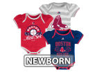 Boston Red Sox Majestic MLB Newborn Girls TP Bodysuit Set Infant Apparel