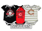 Cincinnati Reds Majestic MLB Newborn Girls Bodysuit Set Infant Apparel