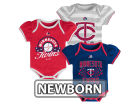 Minnesota Twins Majestic MLB Newborn Girls TP Bodysuit Set Infant Apparel