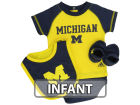 Michigan Wolverines adidas NCAA Infant Creeper Set Infant Apparel