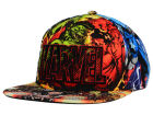 Marvel Marvel All Over Character Wordmark Snapback Hat Adjustable Hats