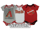 Arizona Diamondbacks Majestic MLB Newborn  TP 3-Piece Set Infant Apparel