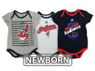 Cleveland Indians Majestic MLB Newborn  TP 3-Piece Set Infant Apparel