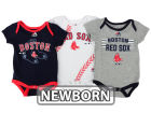 Boston Red Sox Majestic MLB Newborn  TP 3-Piece Set Infant Apparel