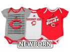 Cincinnati Reds Majestic MLB Newborn  TP 3-Piece Set Infant Apparel