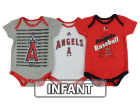 Los Angeles Angels of Anaheim Majestic MLB Infant 2015 TP 3 Piece Set Infant Apparel