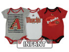 Arizona Diamondbacks Majestic MLB Infant 2015 TP 3 Piece Set Infant Apparel