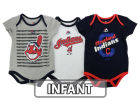 Cleveland Indians Majestic MLB Infant Team Player 3-piece Set Infant Apparel