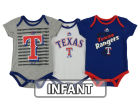 Texas Rangers Majestic MLB Infant 2015 TP 3 Piece Set Infant Apparel