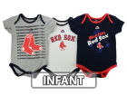 Boston Red Sox Majestic MLB Infant Team Player 3-piece Set Infant Apparel